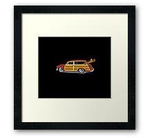 Woody Car Framed Print