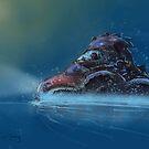 Water Beetle by Tom Godfrey