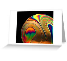 Soap Film #1 Greeting Card