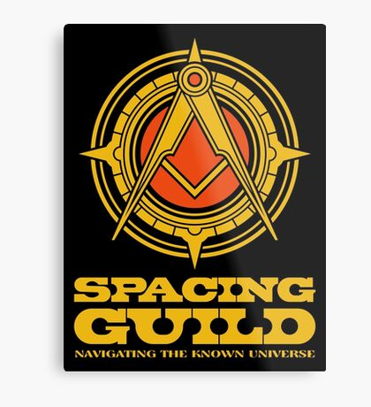 Dune SPACING GUILD Metal Print