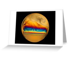 Soap Film #8 Greeting Card