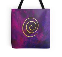 Philip Bowman Deep Purple And Gold Modern Abstract Art Tote Bag