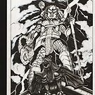 Predator vs Parker by Matthew  Andreas