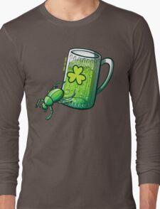 Saint Patrick's Day Beetle Long Sleeve T-Shirt