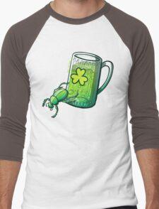 Saint Patrick's Day Beetle Men's Baseball ¾ T-Shirt