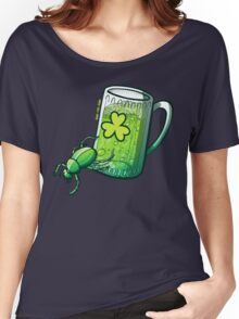 Saint Patrick's Day Beetle Women's Relaxed Fit T-Shirt