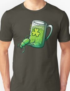 Saint Patrick's Day Beetle Unisex T-Shirt