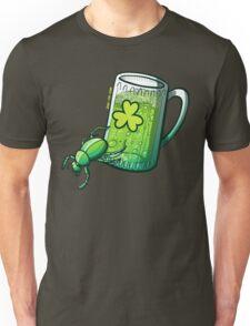 Saint Patrick's Day Beetle Unisex T-Shirt