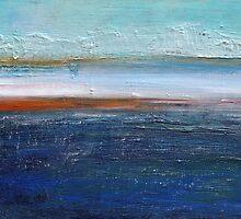blue landscape by Iris Lehnhardt