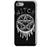 'Witch' Dripping Pentagram iPhone Case/Skin