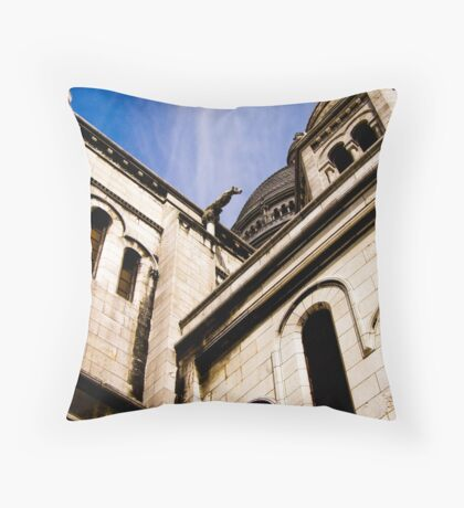 Sacre Couer Throw Pillow
