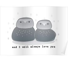 and I will  Poster