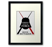 House Skywalker Framed Print