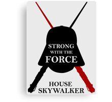 House Skywalker - Star Wars Canvas Print