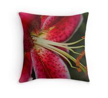 Oriental Lily - Lilium Throw Pillow