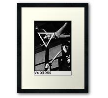 VNDERFIFTY CHICKS THAT KICK ASS ( KILL BILL ) Framed Print