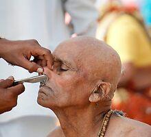 Close shave by Abhinandan Dutta