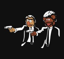 Muppets Pulp Fiction by VintageTeeShirt