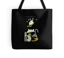 Cats playing  Tote Bag