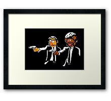 Muppets Pulp Fiction Framed Print