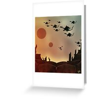 The Rocky Dragon Road Greeting Card