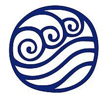 Waterbending emblem Photographic Print