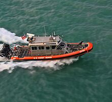 USCG Patrol Boat by Timothy Gass