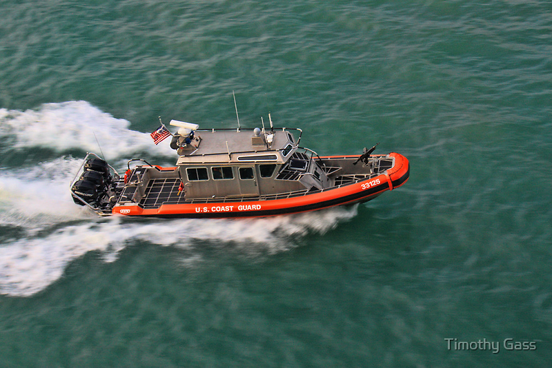 USCG Patrol Boat by Timothy Gass