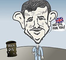 binary options news Ahmedinajad cartoon by Binary-Options