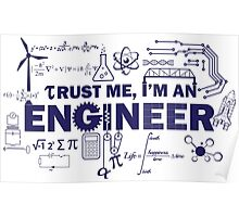 Yeah, I'm An Engineer Poster