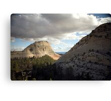 Northgate Peaks - Zion National Park Canvas Print