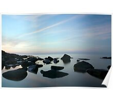 Sunrise Over Lake Superior Poster