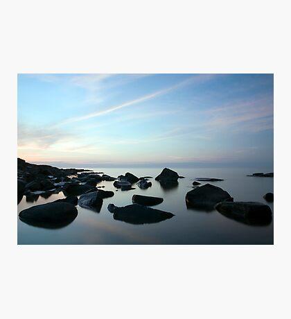 Sunrise Over Lake Superior Photographic Print