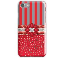 Faux Sequin Rhinestone Striped Iphone or Ipod case iPhone Case/Skin