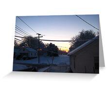 Feb. 19 2012 Snowstorm 68 Greeting Card