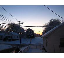 Feb. 19 2012 Snowstorm 68 Photographic Print