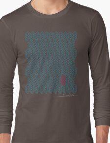 Shubie Highlight Cyan & Magenta Forest Long Sleeve T-Shirt