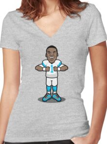The Super One Women's Fitted V-Neck T-Shirt