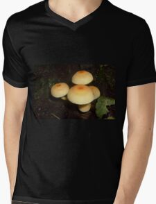 Mushrooms Mens V-Neck T-Shirt