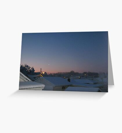 Feb. 19 2012 Snowstorm 69 Greeting Card