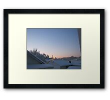 Feb. 19 2012 Snowstorm 70 Framed Print