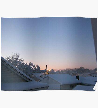 Feb. 19 2012 Snowstorm 70 Poster