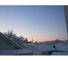 Feb. 19 2012 Snowstorm 70 Photographic Print