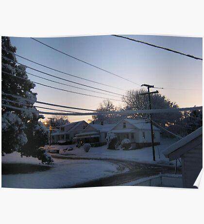 Feb. 19 2012 Snowstorm 71 Poster