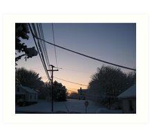 Feb. 19 2012 Snowstorm 73 Art Print