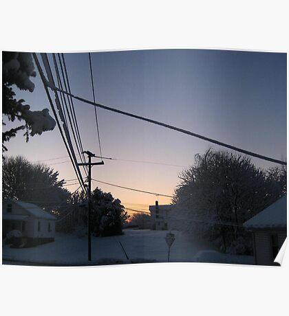 Feb. 19 2012 Snowstorm 73 Poster