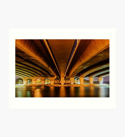 Under Narrows Bridge Art Print