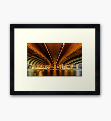 Under Narrows Bridge Framed Print