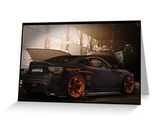 Toyota GT86 Greeting Card