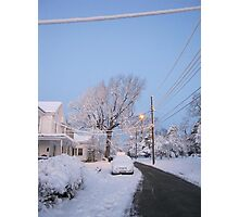 Feb. 19 2012 Snowstorm 80 Photographic Print